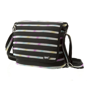 Zipper Messenger Bag