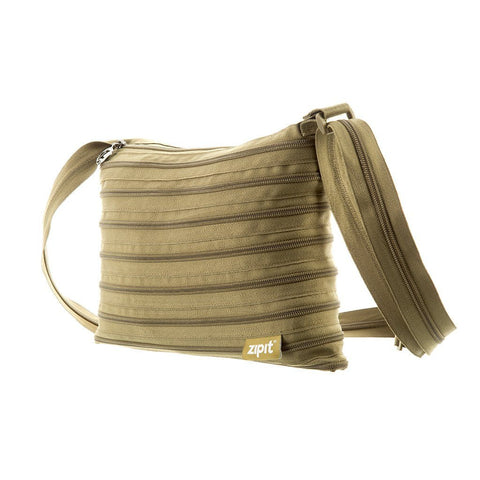 Zipper Shoulder Bag Shoulder Bag ZIPIT Khaki