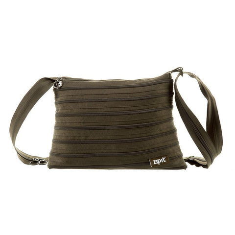 Zipper Shoulder Bag Shoulder Bag ZIPIT Olive Green