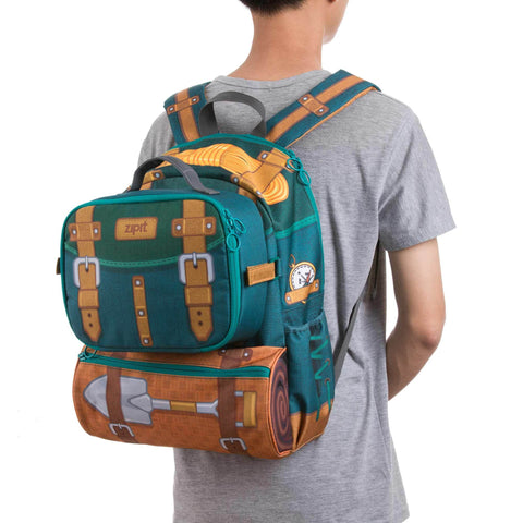 Adventure Backpack & Lunch Bag Combo