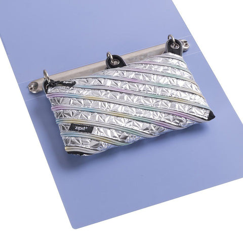 Metallic 3 Ring Pouch