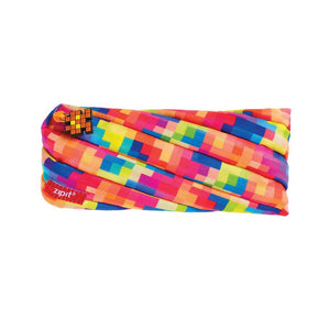 Pixel Pouch Pencil Case ZIPIT Pixel Yellow