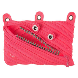 Grillz 3 Ring Pouch 3 Ring Pencil Case ZIPIT Dazzling Pink