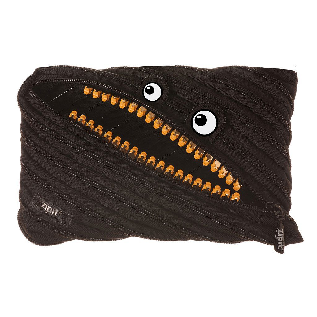 Grillz Jumbo Pouch Big Pencil Case ZIPIT Black