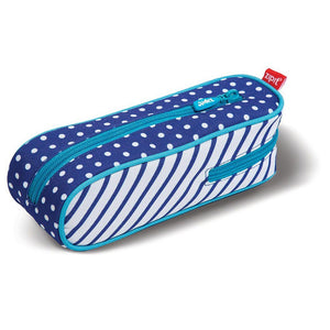 Davis Pencil Case Pencil Case ZIPIT Blue Dot