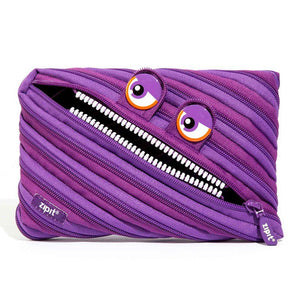Wildlings Jumbo Pouch Big Pencil Case ZIPIT Wildlings Purple