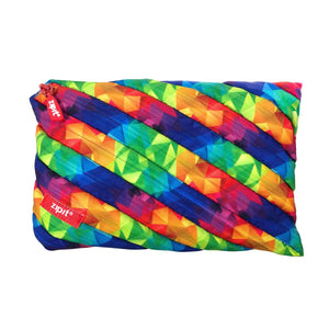 Fresh Twister Jumbo Pouch Big Pencil Case ZIPIT Kaleidoscope