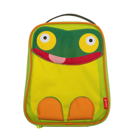 Animals Lunch Bag Lunch Bag ZIPIT Parrot And Frog