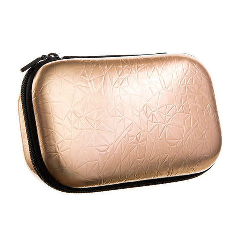 Metallic Pencil Box Pencil/Storage Box ZIPIT Metallic-Rose gold