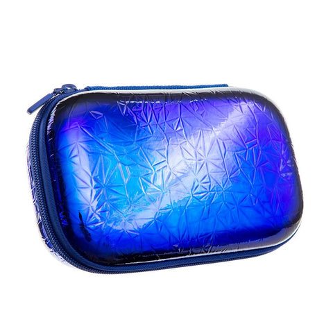 Metallic Pencil Box Pencil/Storage Box ZIPIT Metallic Blue-Green