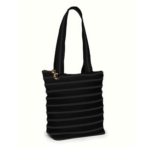 Zipper Medium Tote Bag Tote Bag ZIPIT Black