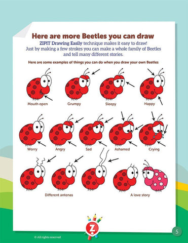 Drawing Easily Booklet - Easter