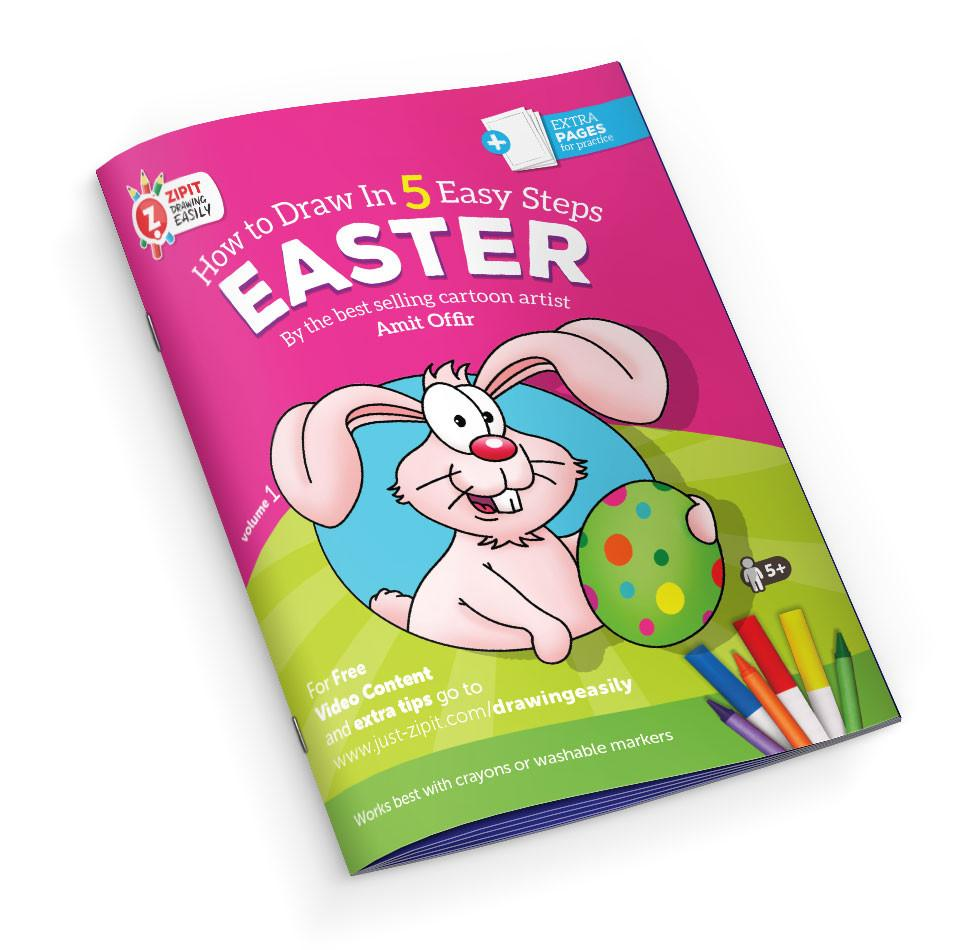 Drawing Easily Digital Printable Booklet - Easter