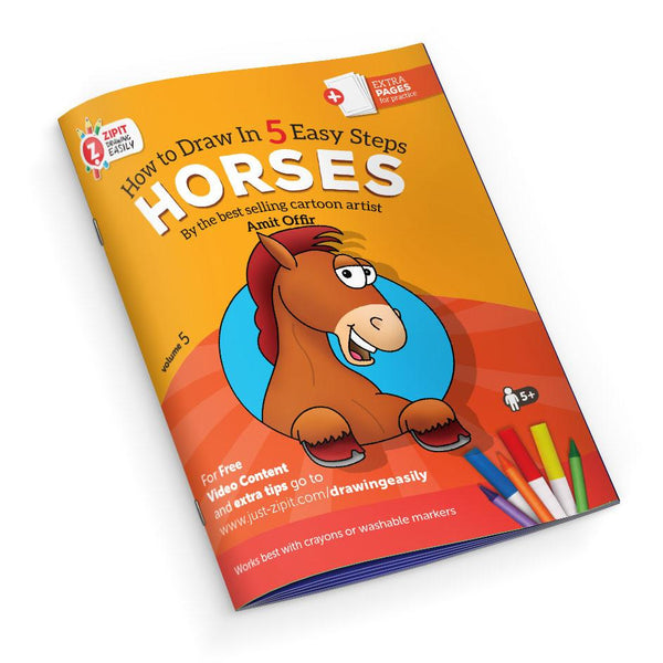 Drawing Easily Booklet - Horses