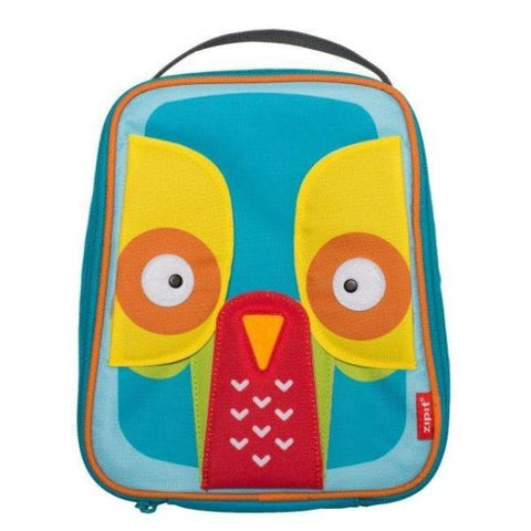 Animals Lunch Bag Lunch Bag ZIPIT Owl & Elephant