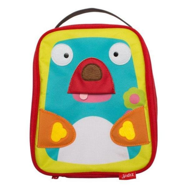 Animals Lunch Bag Lunch Bag ZIPIT Teddy & Penguin