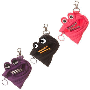 Grillz Mini Pouch 3-Pack (Pink, Black, Purple)