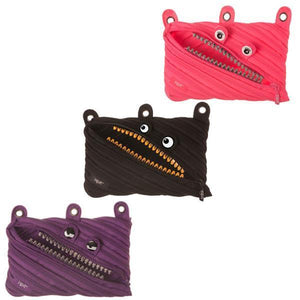 Grillz 3-Ring Pouch 3-Pack (Pink, Purple, Black)