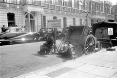 Arbeitspause in London - England 1955