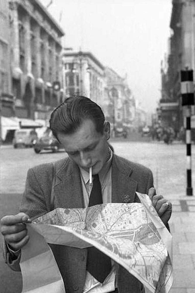 Stadtplan in London - England 1951