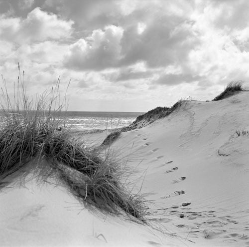 Strandimpression III - Sylt 1956