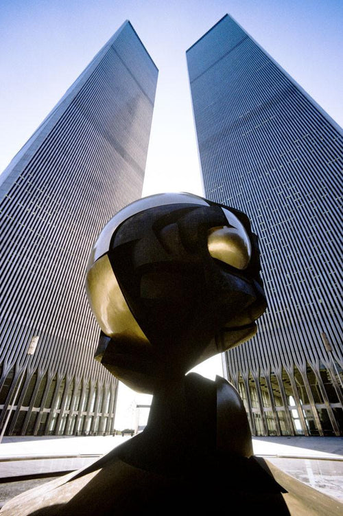 WTC - Twin Towers mit Sphere 1975