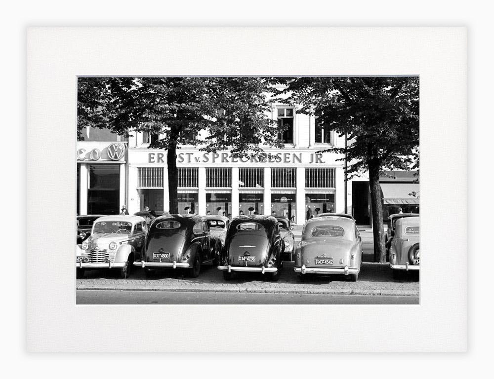 Oldtimer in Hamburg 1951