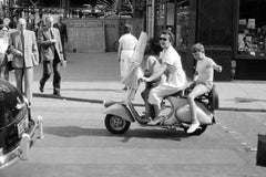 Vespa 1953 in Hamburg