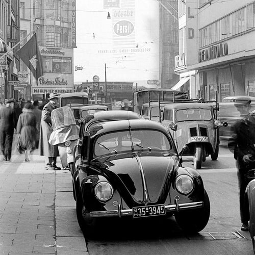VW-Käfer 1952 in Hamburg