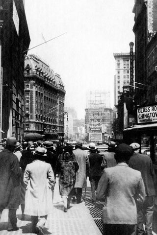Broadway in New York City - U.S.A. 1931