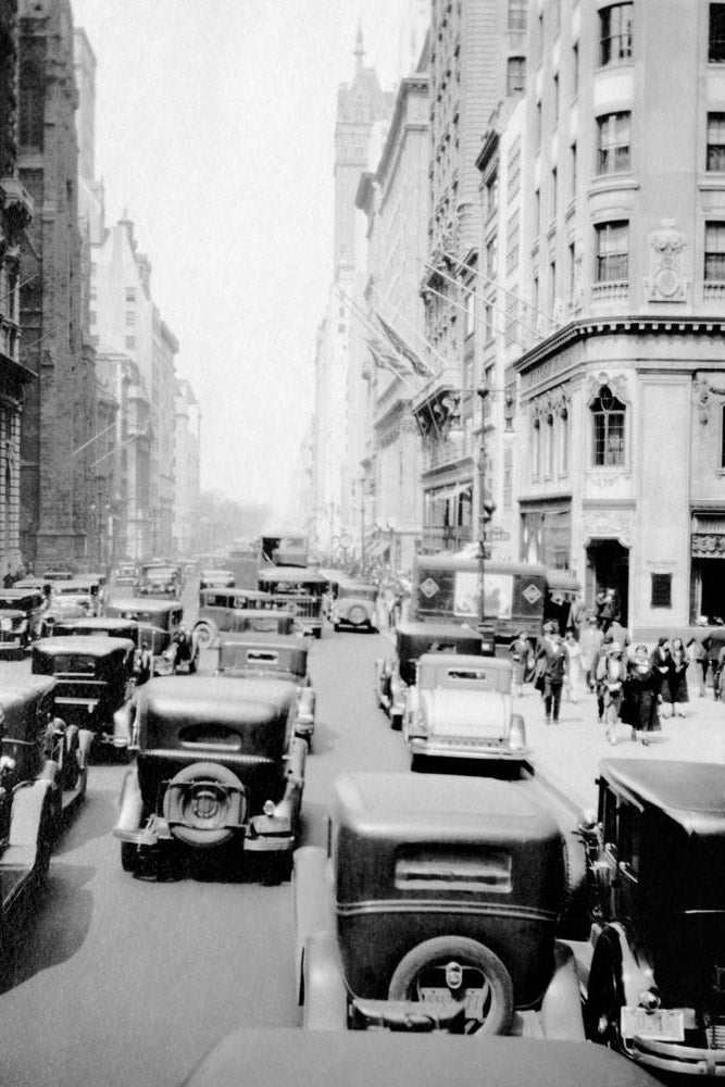 Verkehr in New York City - USA 1931