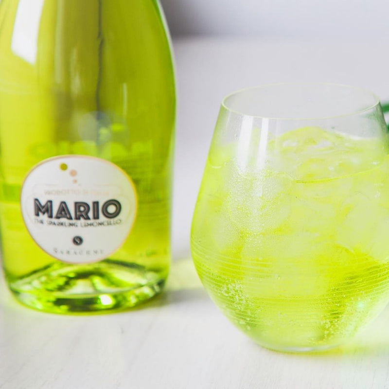 Mario! The Sparkling Lemoncello Sparkling wine, 750ml, 7.0% abv Saraceni Wines