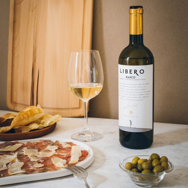 Libero Bianco White Wine, 750ml, 11% ABV Saraceni Wines
