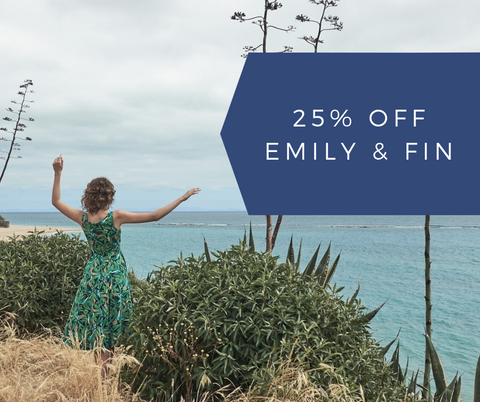 Emily & Fin FLASH SALE!