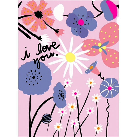 Carolyn Suzuki Love Blooms Card