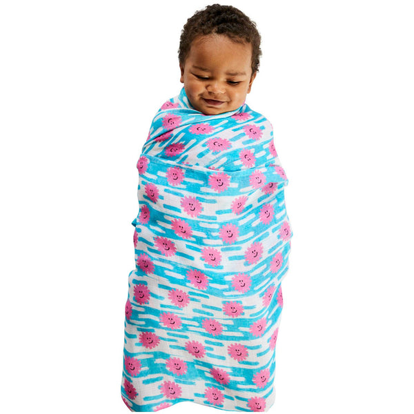 Kip & Co Happy Days Bamboo Baby Swaddle