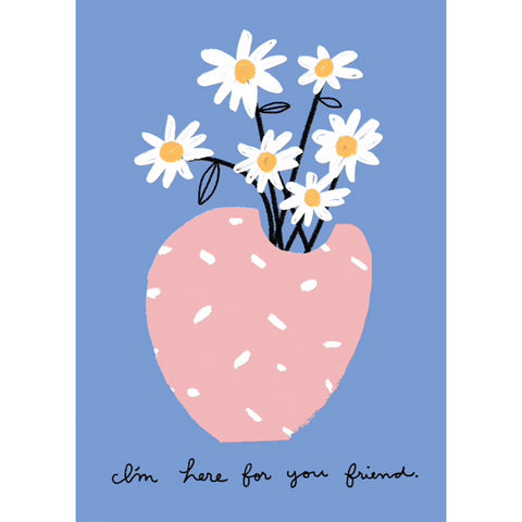 Carolyn Suzuki Flowers For You Friend Card
