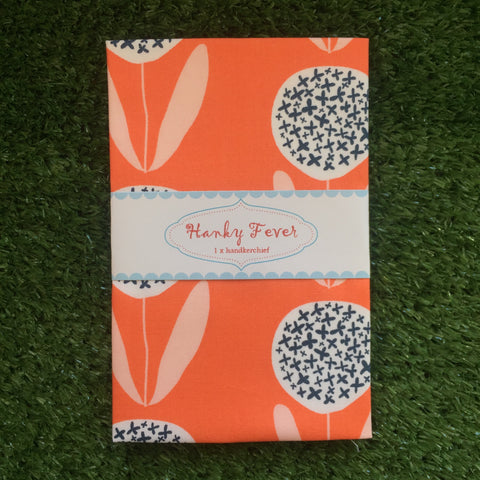 Hanky Fever Coral Blooms Hanky