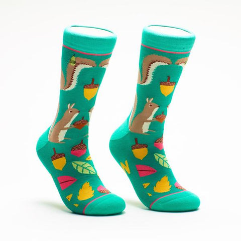 Woven Pear Aw Nuts Socks