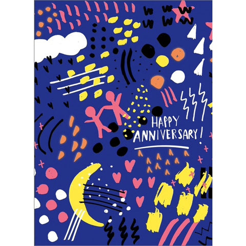 Carolyn Suzuki Happy Anniversary Universe Card