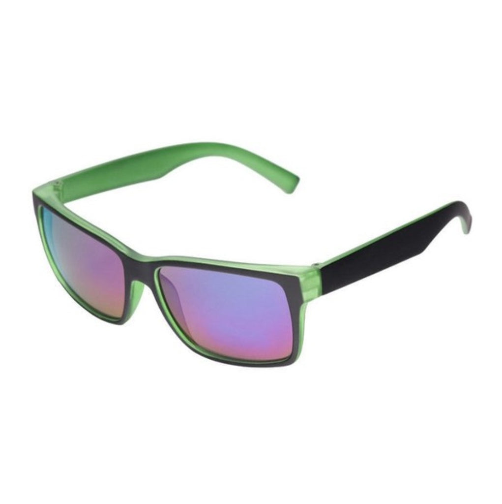 Unity Kids' Black & Green Frosted Sunglasses