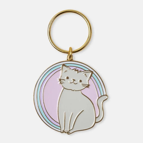 The Good Twin Kitty Keychain