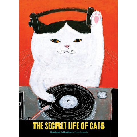 Pepe Shimada Secret Life of Cats Notebook Set