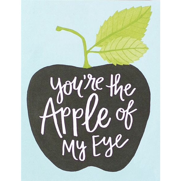 OneCanoeTwo You're the Apple of My Eye Card