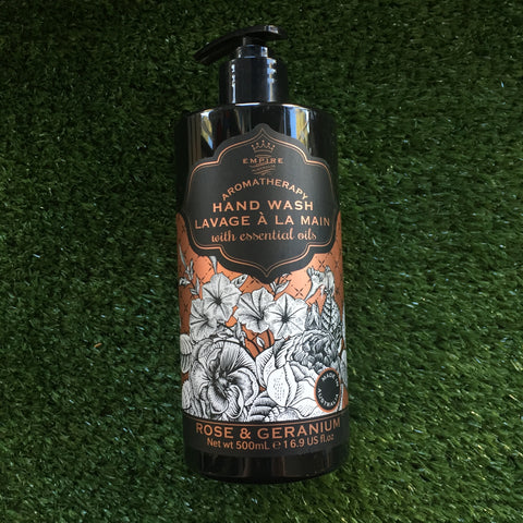 Empire Botanicals Rose and Geranium Hand Wash