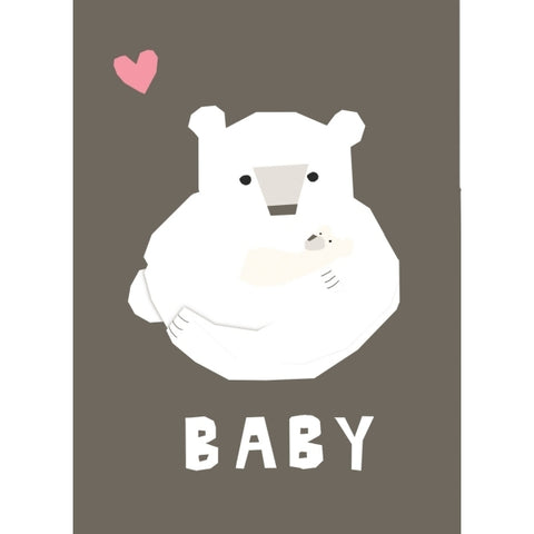Carolyn Suzuki Baby Polar Love Card
