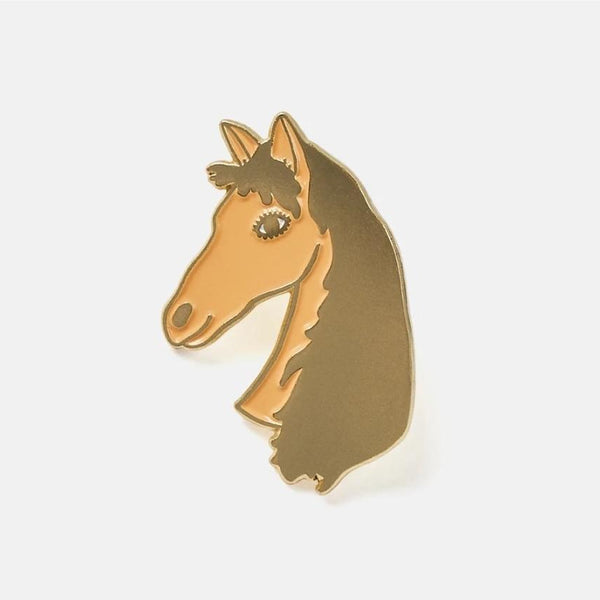 The Good Twin Horse Pin & Postcard