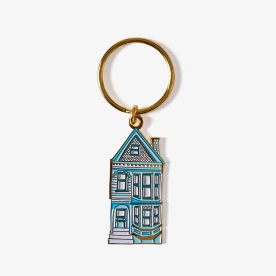 The Good Twin House Keychain