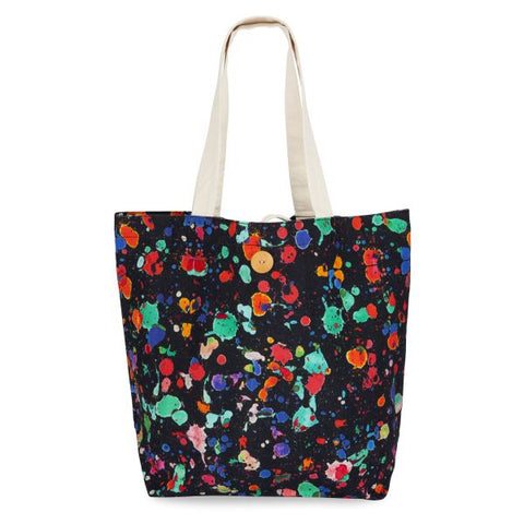 Hello Sunday Colourful Splatter Tote