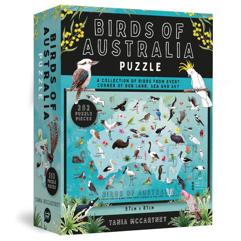 Birds of Australia by Tania McCartney Jigsaw Puzzle